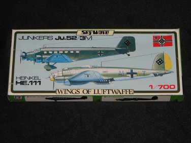 SkyWave 1:700 Wings of Luftwaffe Ju.52 He 111