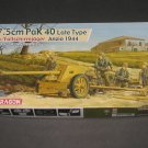 Dragon 1:35 7.5cm PaK 40 Late Type w/Fallschirmjäger Anzio 1944
