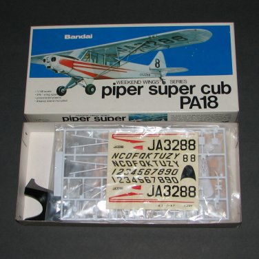 Bandai 1:48 Piper Super Cub PA18 Weekend Wings