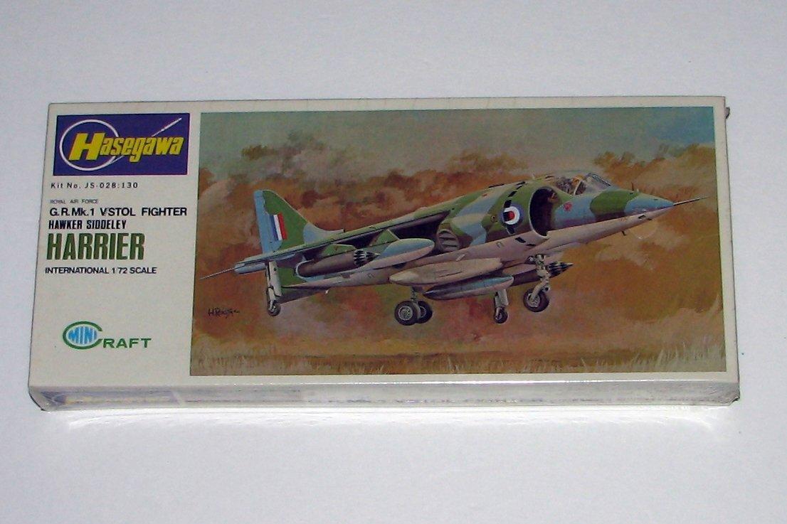 Hasegawa 1:72 Hawker Siddeley Harrier G.R. Mk.1