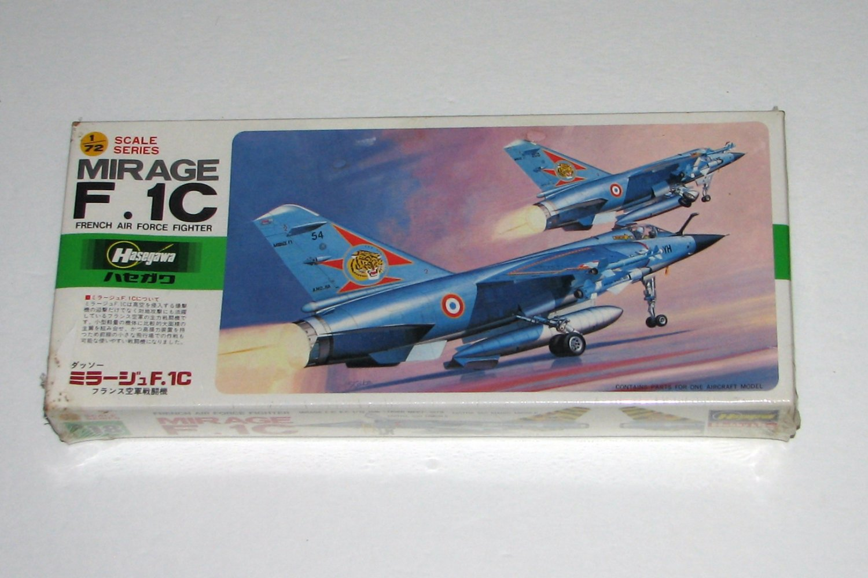 Hasegawa 1:72 Mirage F.1C