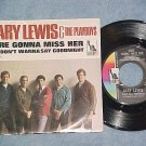 NM/VG++ 45 w/PS-GARY LEWIS/PLAYBOYS-SURE GONNA MISS HER