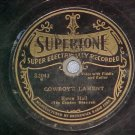 78--EWEN HALL/BUELL KAZEE--1929--Supertone S2043