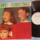 MERRY (MUSIC FOR) CHRISTMAS--NM/VG++ LP--Palace XM-910
