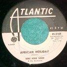 45-HANS ARNO SIMON-AFRICAN HOLIDAY-Atlantic2168-WLPromo