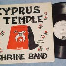 CYPRUS TEMPLE SHRINE BAND, ALBANY, NY--Private 1960 LP