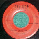 45-THE CLUSTERS-DARLING CAN'T YOU TELL-1958-Tee Gee 102