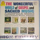 WONDERFUL WORLD OF GOSPEL & SACRED MUSIC-Sealed 1963 LP