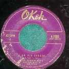 45-THE SCHOOLBOYS-MARY/I AM OLD ENOUGH--1957--Okeh 7085