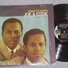 JOE AND EDDIE--DOWN TO EARTH--VG++/NM in shrink 1970 LP