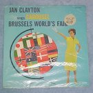 JAN CLAYTON-CAROUSEL-Brussels-SEALED Disney LP-WDL-3036