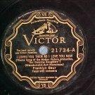78-FRANKLYN BAUR-I LOVED YOU THEN..-Victor Scroll 21734