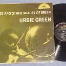 URBIE GREEN--BLUES AND OTHER SHADES OF GREEN--1955 LP