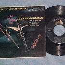 EP w/PS-BENNY GOODMAN--AND THE ANGELS SING-1958-RCA--NM