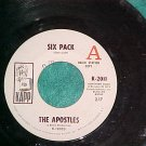 45-THE APOSTLES-SIX PACK/SOUL FIESTA-1969-Kapp-WL Promo