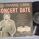 FRANKIE LAINE-CONCERT DATE-NM 1957 LP--Mercury MG-20085