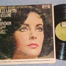 ELIZABETH TAYLOR IN LONDON--1963 TV Sdk LP--John Barry