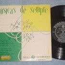 "MUSICAS SE SEMPRE--10"" '50's Brazil LP--Various Artists"