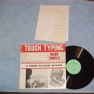 TOUCH TYPING MADE SIMPLE-1960 LP w/2 Inserts-Webster Co