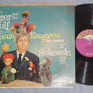 CAPTAIN KANGAROO--PETER AND THE WOLF--1960 LP--Everest