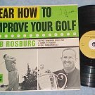 HEAR HOW TO IMPROVE YOUR GOLF--NM/VG++ 1960 Carlton LP