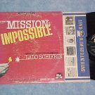 MISSION IMPOSSIBLE--VG+/VG Stereo 1967 TV Sdk LP on Dot