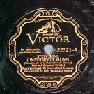 78-RUDY VALLEE--STEIN SONG/ST LOUIS BLUES-Victor Scroll