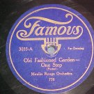 78-MOULIN ROUGE ORCHESTRA--OLD FASHIONED GARDEN--Famous