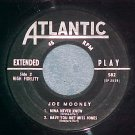 EP--JOE MOONEY (QRTT)-LUSH LIFE--1956--Atlantic 582--NM