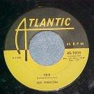 45-ALEC TEMPLETON-IDA/BIG BEN BOUNCE-1954-Atlantic--VG+