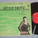 "THE BESSIE SMITH STORY-Vol 2--1956 LP--Columbia ""6-eye"""