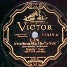 78-FRANKLYN BAUR/LEWIS JAMES--1927--Victor Scroll 21019
