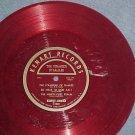 """KENNY BAKER--THE STRANGER OF GALILEE--10"""" Red Vinyl LP"""