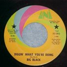 Promo 45-BIG BLACK-DIGGIN&#39; WHAT YOU&#39;RE DOING--1971--Uni