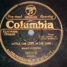 78-RILEY PUCKETT-LITTLE LOG CABIN-Columbia 15171-D--VG+