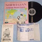 NORWEGIAN LANGUAGE COURSE RECORD-1961 Conversa-phone LP