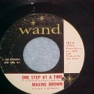 45-MAXINE BROWN-ONE STEP AT A TIME-1965-Wand 185-Copy#1