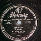 78-REX ALLEN-DON'T CHA/YODELIN' CRAZY-1949-Mercury 6269
