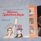 DIVORCE AMERICAN STYLE--VG++/VG+ Stereo 1967 Sdk LP