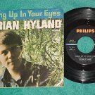 45 w/PS--BRIAN HYLAND--HUNG UP IN YOUR EYES--1967--VG+
