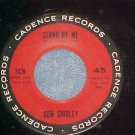 45-DON SHIRLEY--STAND BY ME/AMEN-1962--Cadence 1420--NM