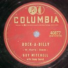 78-GUY MITCHELL--ROCK-A-BILLY-1957-Columbia 40877-VG+