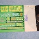 THE VERY BEST OF HANK WILLIAMS--Vol. 2--NM/VG++ 1964 LP