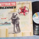 LETTER TO BREZHNEV--NM 1985 Movie Soundtrack LP