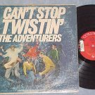 THE ADVENTURERS--CAN'T STOP TWISTIN'--1961 LP--Promo