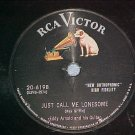 78-EDDY ARNOLD-JUST CALL ME.LONESOME-1955-RCA 6198--VG+