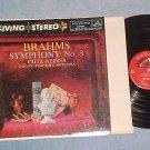 Shaded Dog LP--LSC-2209--BRAHMS SYMPHONY No.3--CSO-1958
