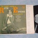 THE ORIGINAL RECORDINGS OF RUTH ETTING-NM/VG+ '50's  LP