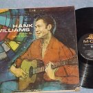 HANK WILLIAMS--WAIT FOR THE LIGHT TO SHINE--1960 LP