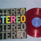 FANTASY STEREO DEMONSTRATION DISC--NM/VG++ Red Vinyl LP